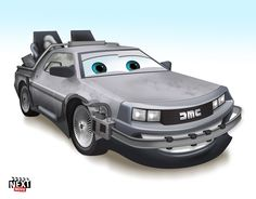 The : 7 Famous Movie Cars Redone As Pixar Characters http://www.nextmovie.com/blog/famous-movie-cars-as-pixar-characters/#