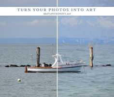 Turn Your Photos Into Art (the ultimate guide) | The Painted Hive