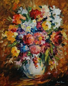 floralart.quenalbertini: Summer Mood by Leonid Afremov on DeviantArt