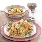Un primo piatto speciale, bello da vedere e buono da mangiare, ideale per cucinare le crepes in modo diverso dal solito. Prova la ricetta di Sale