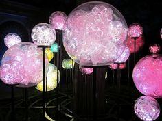 Light balls.