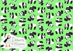 Drawn by Rhiannon panda print design green background Panda Drawing, Photoshop Me, White Pencil, Green Backgrounds, Print Design, Sketches, Black And White, Drawings, Inspiration