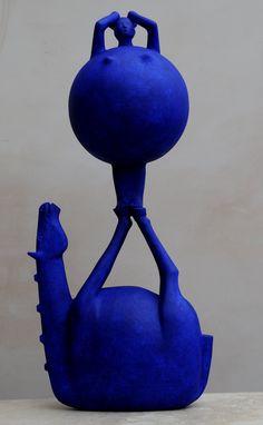 The Art of Being Blue by Eoghan Bridge