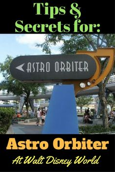 What you need to know about the Astro Orbiter in Magic Kingdom - hope you like HEIGHTS! Disney World Rides, Disney World Parks, Disney World Planning, Walt Disney World Vacations, Disney Tickets, Disney World Magic Kingdom, Magic Hour, Flash Photography, Touring