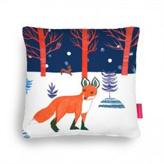 Winter wonderland Cushion, Ohh Deer pillow fight competition