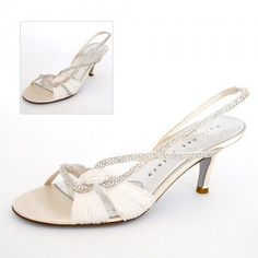 888fabbb5ab The Coziness of Low Heeled Wedding Shoes