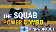 The SQUAB - a Mini-Workout to strengthen your legs, core, abs and back. New combos for better, effective fitness training. FREE Fitness Workouts During Lockd. Strong Back, Workout For Beginners, Hiit, How To Stay Healthy, At Home Workouts, Core, Health Fitness, Abs, Exercise