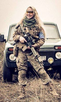 Russian female army