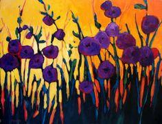 purple painting - Google Search
