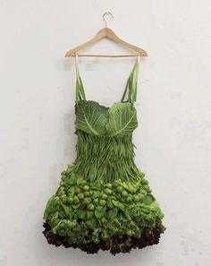 vestido de coles
