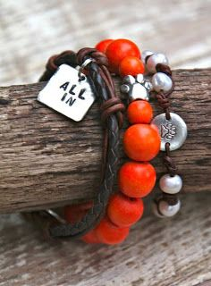 Clemson Girl Giveaway - Win a stack of Clemson gameday bracelets from All Inspired Boutique #clemsongirl #clemson #allin
