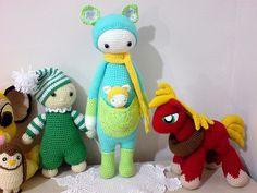 KIRA the kangaroo made by s1nglecrochet /  crochet pattern by lalylala