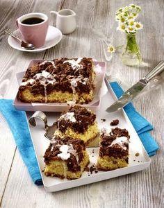 Das Rezept für Kuchenwürfel mit Schokostreuseln und weitere kostenlose Rezepte auf LECKER.de