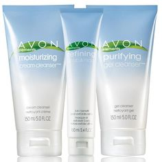 The perfect gentle skin cleanser. Trio includes:<br><br><b>Purifying Gel Cleanser</b><Br>With Pro-Vitamin B5. Deep cleanses without drying skin. 5 fl. oz. a $6.99 value.<br><br><b>Refining Scrub & Mask</b><br>With edelweiss extract. Cleanses pore-clogging dirt and oil. 3.4 fl. oz. A $6.99 value.<br><br><b>Moisturizing Cream Cleanser</b><Br>With papaya extract. Oil-free. 5 fl. oz. a $6.99 value.