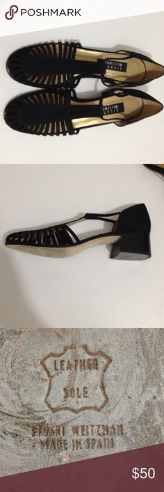 Stuart Weitzman dress shoes Has short heel made in Spain with Leather soul. In great shape Stuart Weitzman Shoes