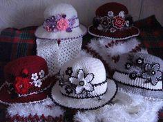 A(z) 319 legjobb kép a(z) crochet hats táblán  0c938ba903