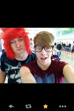 Patty and Jason   ~I'm really loving Jason's hair, it reminds me of Ariel!!!
