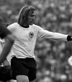 Gunter Netzer - Borussia Mönchengladbach, Real Madrid, Grasshopper Club Zurich, West Germany.