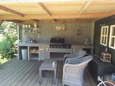 Buitenkeuken steigerhout