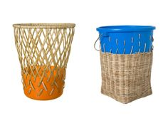 Produced by the indigenous Aeta people of the Philippines (via fair trade NGO Preda) and designed by Cordula Kehrer, each bin is made from sustainably harvested rattan and reclaimed bins.