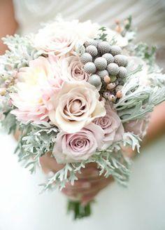 Blumengestecke für Hochzeit Winter