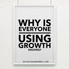 """Growth hacking a new tool that allows you to add Miracle Gro to your the moment you put on the buzzword du jour something you say in a conversation to make it seem like you're a """"smart marketer.""""If you answered 3 and/or you're right. Growth Hacking, Content Marketing, Digital Marketing, Social Media, In This Moment, Sayings, How To Make, Jessica Ann, Conversation"""