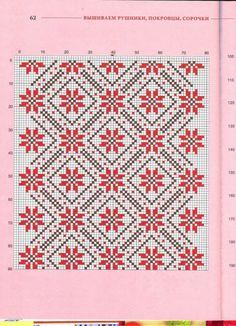 Cross stitching , Etamin and crafts: Traditional cross stitch Pattern Blackwork Embroidery, Folk Embroidery, Cross Stitch Embroidery, Embroidery Patterns, Cross Stitch Borders, Cross Stitch Designs, Cross Stitching, Cross Stitch Patterns, Knitting Stitches
