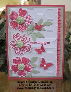 Love the Flower Shop Bundle by Stampin' Up! www.StampingYearRound.com
