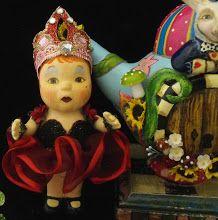 Alice in Wonderland baby Queen of Hearts