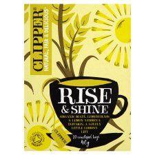 Clipper Rise&Shine Organic Tea Bags 20'S 40g