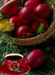 Good Morning Picture, Morning Pictures, Good Morning Images, Orthodox Easter, Greek Easter, Christmas Tree Inspiration, Easter Wishes, Good Morning Greetings, Coffee Love