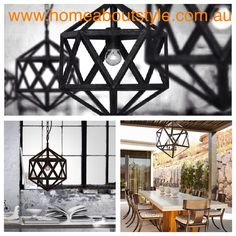 A glamorous feature light for a modern, transitional or traditional home... Either way the Davinci Pendant is design sophistication at its best!! 1 light $149, 3 light $339 matching table lamp avail www.homeaboutstyle.com.au lights @home_about_style #interiordesign #homedecor #pendantlights #featurelights #lights #homelighting #polyhedron #geometric #modernlighting #stylish #luxury #beautifulhomes #mercatorlighting #industrialstyle #instadaily #pickoftheday #homeaboutstyle #homedecorators
