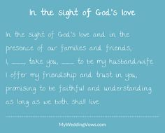 12 Best wedding vows abd love poetry images in 2018