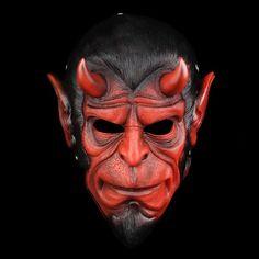 High Quality Hellboy Masks Resin Horror Movie Cosplay Halloween Masquerade Ball Grimace Demon Masks