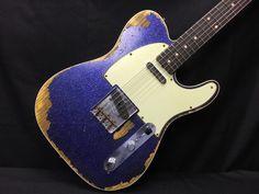 2015 Fender Custom Shop Heavy Relic '60s Telecaster Custom Purple Sparkle in Musical Instruments & Gear, Guitars & Basses, Electric   eBay