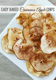 Easy Baked Apple Chips Recipe