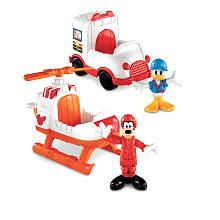 Fisher-Price Mickey Mouse Clubhouse Vehicle - Goofy and Donald Rescue Vehicles - Fisher-Price - Toys R Us Mickey Mouse Clubhouse Toys, Mickey Mouse Toys, Hot Toys Iron Man, Rescue Vehicles, Fisher Price Toys, Kids Room Organization, Babies R Us, Toys R Us, Christmas Toys