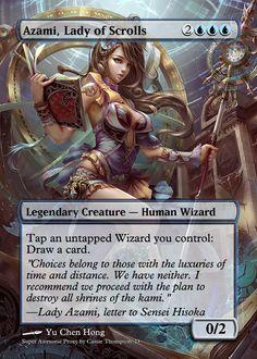 Azami, Lady of Scrolls by Itsfish3 on DeviantArt