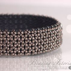 Chenille Bangle   JewelryLessons.com