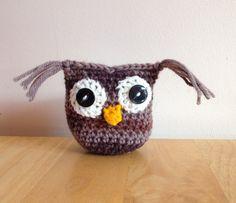 Amigurumi owl. by Christinescraftbox on Etsy