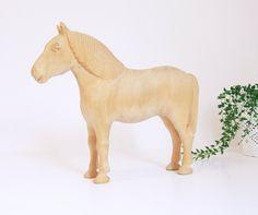 Sueco Folk Art yegua madera //Talla sueca de por tiendanordica