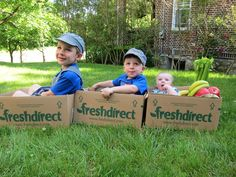 """""""FD Boxes to my 3 sons = train; FD boxes to their working mother = more time to enjoy life's special moments!"""""""
