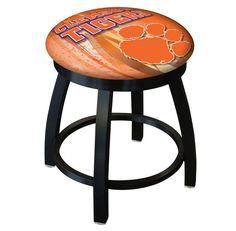 Clemson Tigers D2 Black Swivel Vanity Stool. Visit SportsFansPlus.com for details.