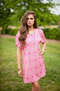 pink pops dress  #swoonboutique