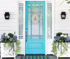 Coastal Inspired Decor and Craft Ideas.