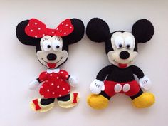 A personal favourite from my Etsy shop https://www.etsy.com/listing/484785514/mickey-and-minnie-mouse