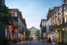 新中式商业街 - Google 搜索