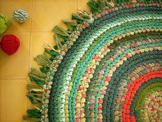 crochet rug!