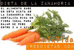 Dieta De La Zanahoria  https://www.freedietas.com/dieta-de-la-zanahoria/