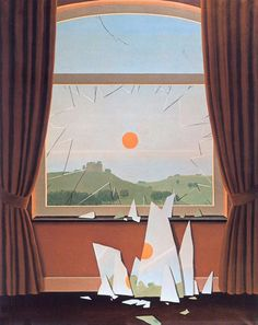 René Magritte, Le soir qui tombe (Evening Fall), 1964